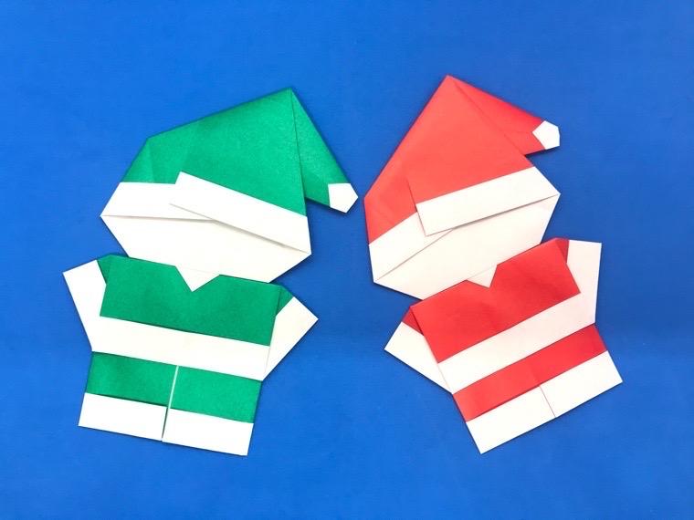 サンタ かわいい 簡単 折り紙 折り紙のサンタがかわいい!簡単な折り方だから子供にもおすすめ