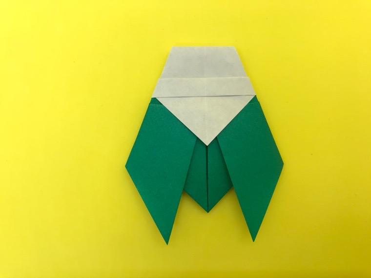 せみの折り紙_14