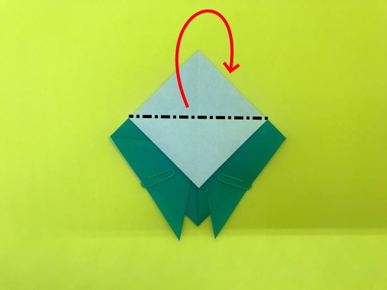 せみの折り紙_2