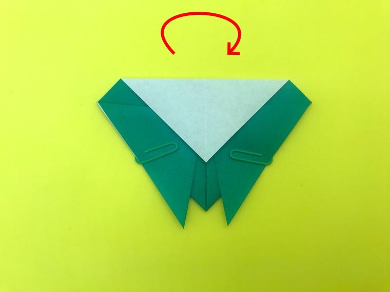 せみの折り紙_3
