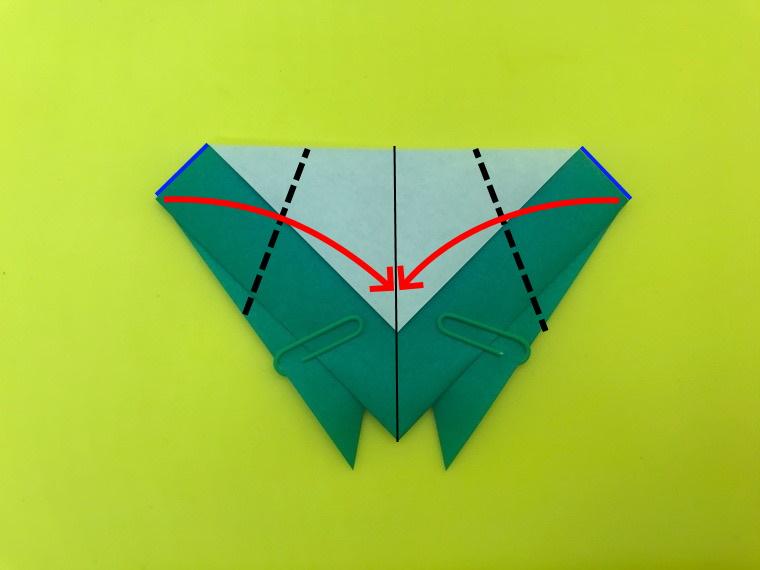せみの折り紙_4