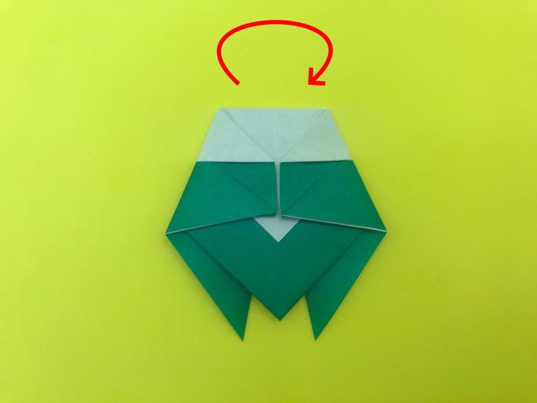 せみの折り紙_5