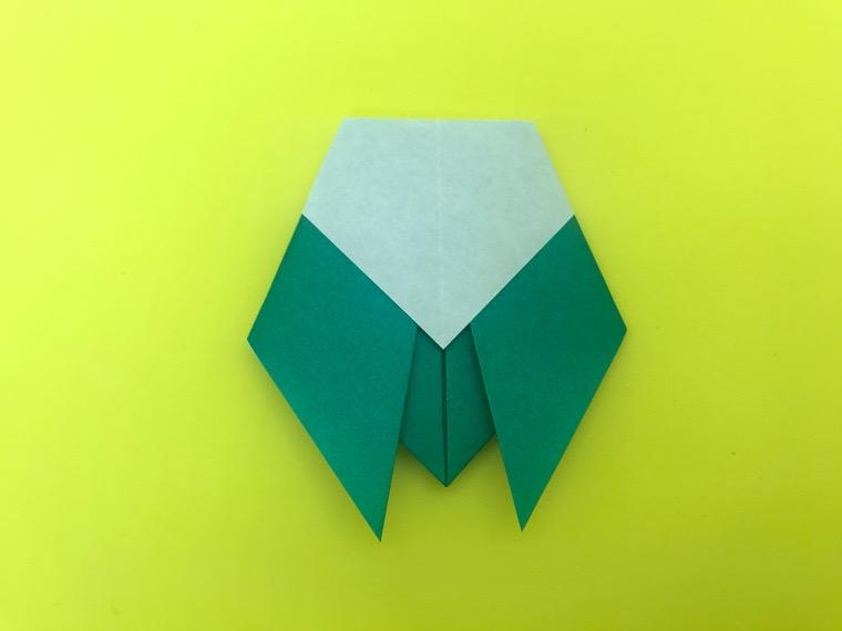 せみの折り紙_6