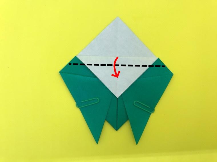 せみの折り紙_9