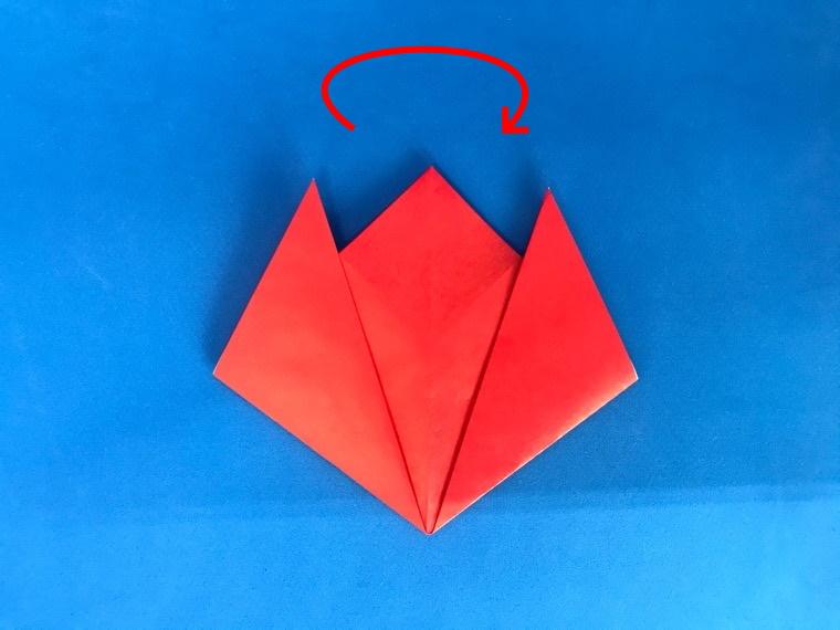 チューリップお折り紙_12-2