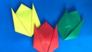 チューリップお折り紙_20