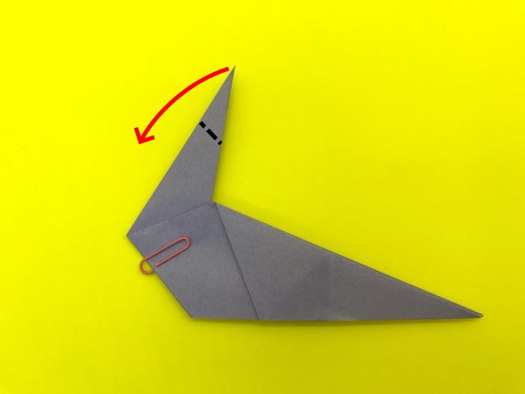 ハトの折り紙_13