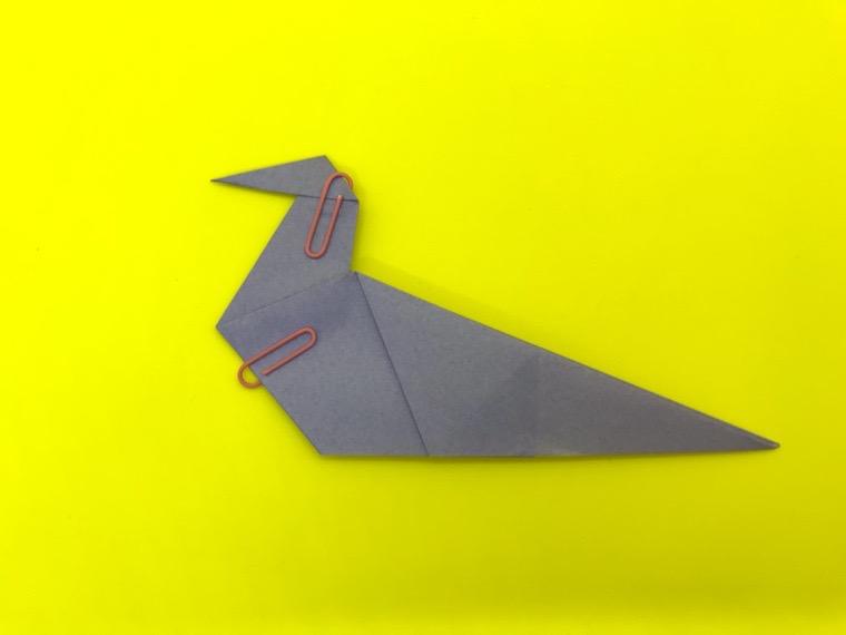 ハトの折り紙_14