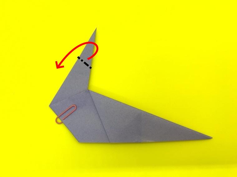 ハトの折り紙_15