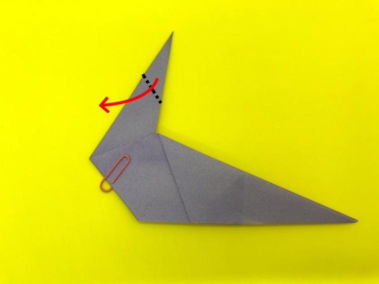 ハトの折り紙_17