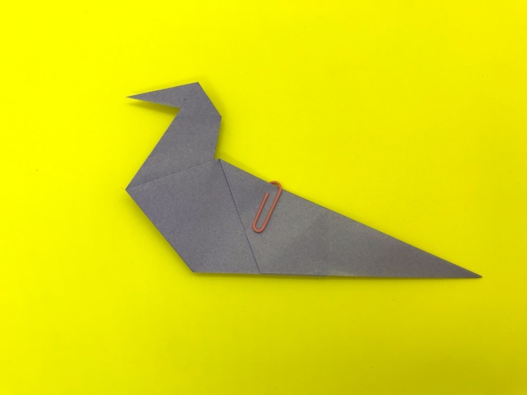 ハトの折り紙_19