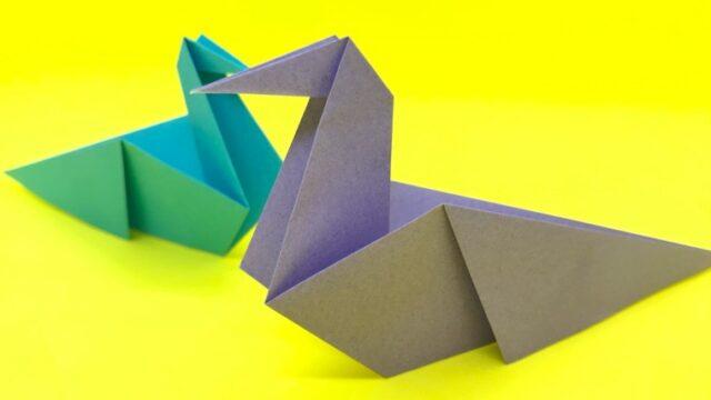 ハトの折り紙_21