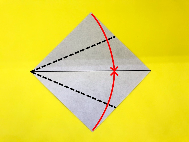 ハトの折り紙_4