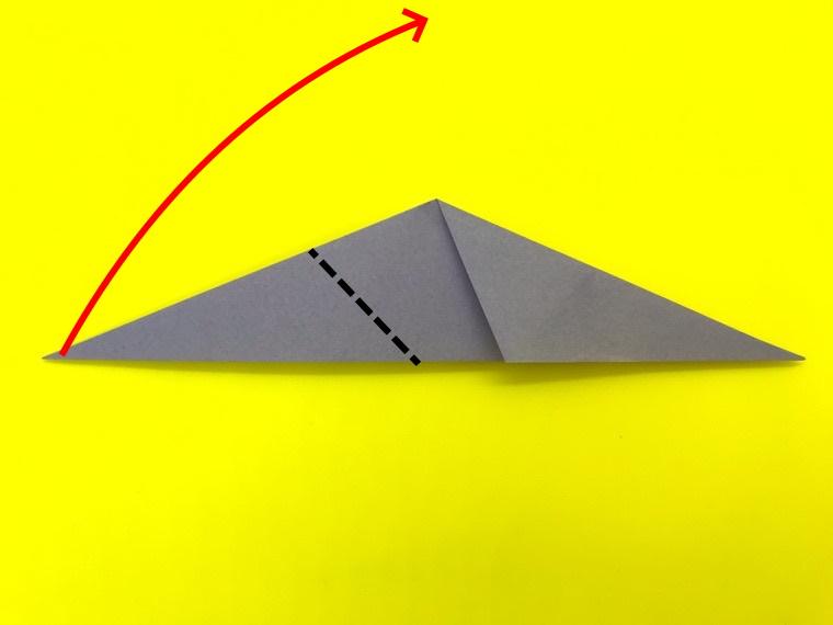 ハトの折り紙_7