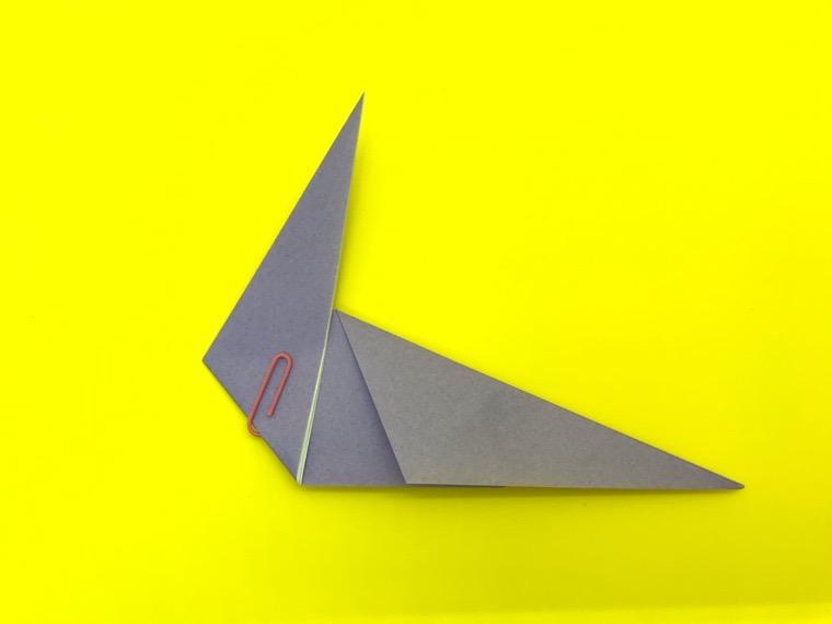 ハトの折り紙_8