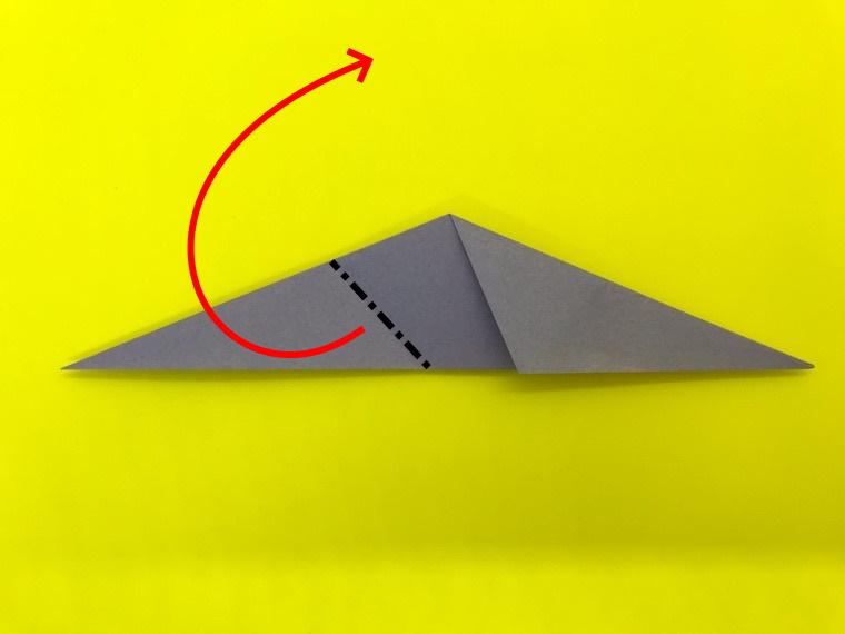ハトの折り紙_9
