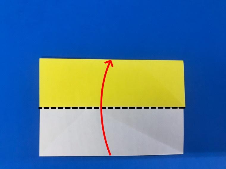 折り紙の三等分の折り方_10