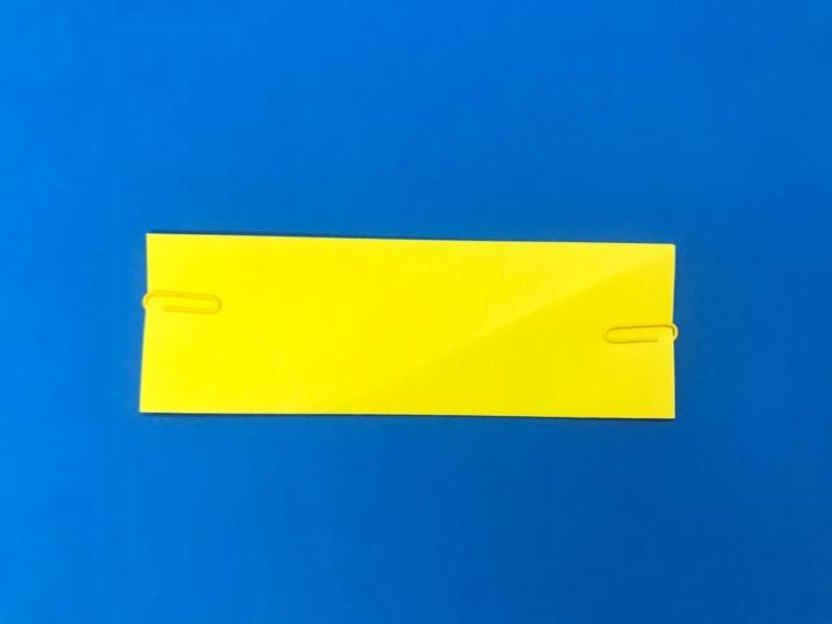 折り紙の三等分の折り方_11