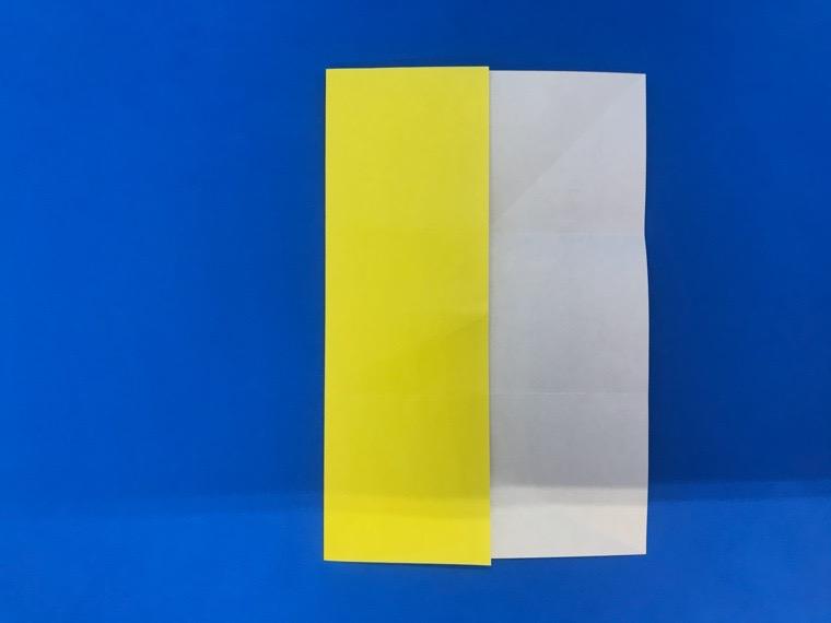 折り紙の三等分の折り方_13