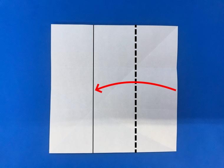 折り紙の三等分の折り方_14