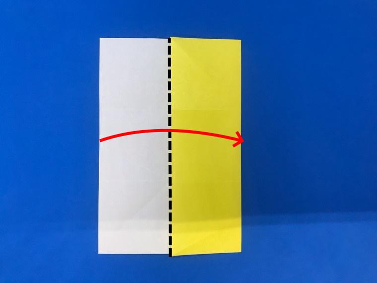 折り紙の三等分の折り方_15