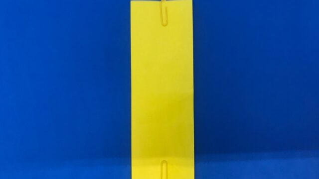 折り紙の三等分の折り方_16