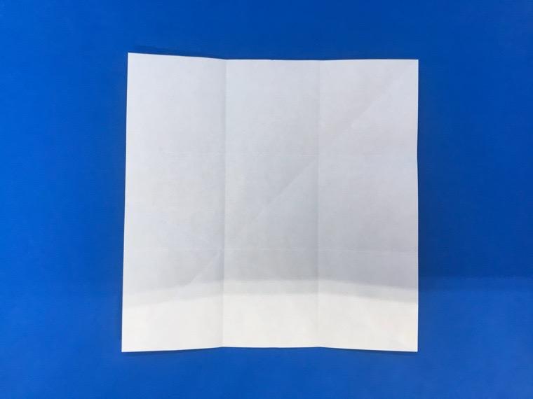 折り紙の三等分の折り方_17