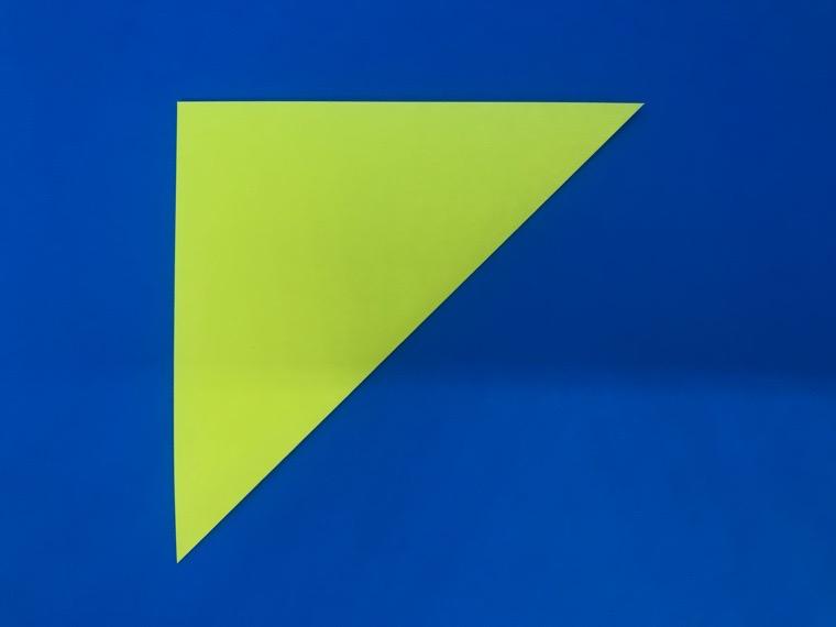 折り紙の三等分の折り方_2