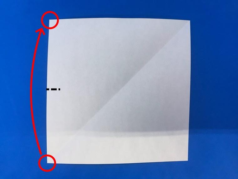 折り紙の三等分の折り方_3