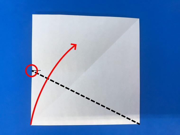 折り紙の三等分の折り方_5