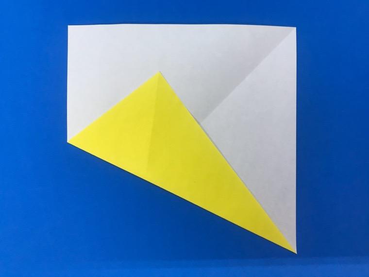 折り紙の三等分の折り方_6