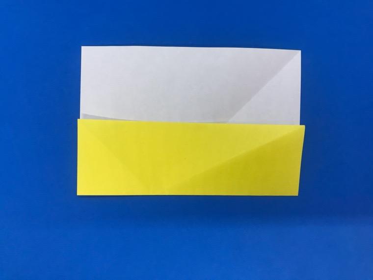 折り紙の三等分の折り方_8