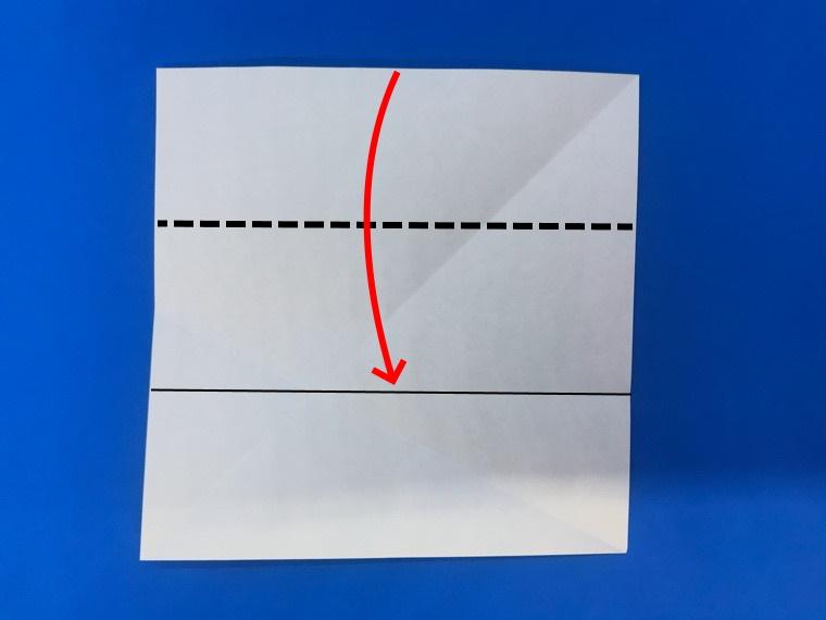 折り紙の三等分の折り方_9