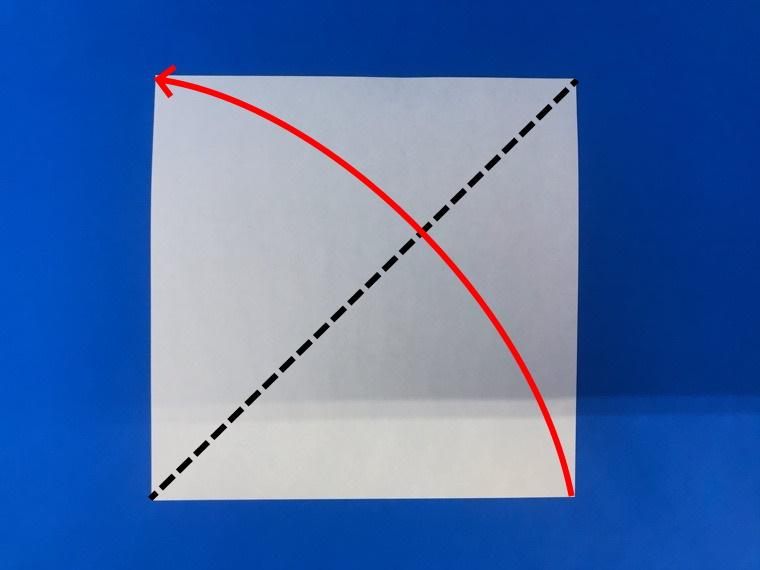 折り紙の三等分の折り方_1